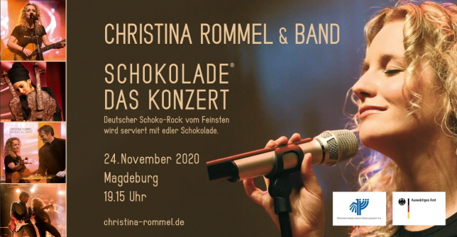 24. November 2020 – Deutsch-Israelisches Schokoladenkonzert ***online***